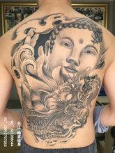 满背佛纹身手稿#吴江酷客纹身