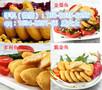 成都一个香辣鸡腿堡价格丨炸鸡汉堡原料供应商丨汉堡堡专用冻鸡原材料图片