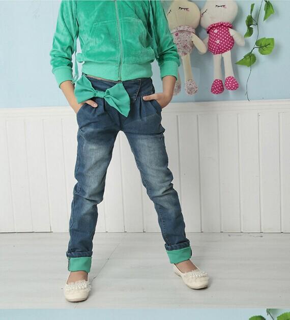 木齐最便宜童装加绒牛仔裤批发韩版尾货男装牛仔裤批发-童装加绒报