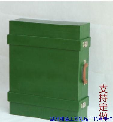 绿色木盒定做厂家14技术
