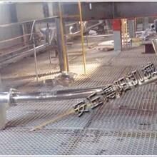 宁夏氧化铝粉管链输送机管链提升机灵活输送