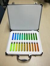 """靠譜22色水色計質量可靠,22色國際""""福魯爾水色標準圖片"""