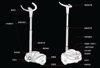 成都市思维翼迷你自平衡车,四川省两轮电动车,思维车