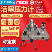 泰匯爾儀器廠家直銷THLL系列活塞式壓力計0.05級60MPa活塞壓力計圖片