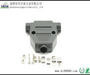 优质D型连接器D-SUBDB25芯RS-232塑壳黑色配套外壳图片