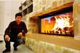 安徽合肥别墅壁炉巨大屏幕壁炉进口壁炉