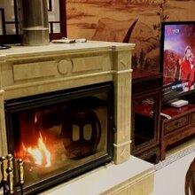 哈尔滨燃木壁炉别墅壁炉哈尔滨专卖嵌入式取暖壁炉