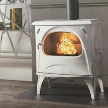山东壁炉新款搪瓷壁炉AURORE独立式取暖壁炉