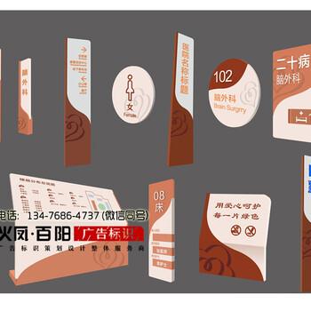 入口导视立牌设计制作,武汉导视标识立牌供应商,大型立柱标识标牌制作安装