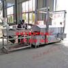 兰花干油炸机连续电加热豆腐串油炸机鹏福特干豆腐串油炸机器设备