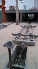 加气混凝土切割机改造框架摆动弹簧钢板切割机改造气缸张紧图片