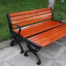 武汉小区社区防腐木桌椅,武汉小区老人休息椅图片