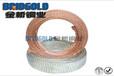 方形铜编织带可伸缩编织网管镀锡铜编织线厂家