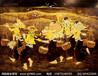 鸿韵画业福建酒店壁画漆画定制厂家《满载而归》:辛勤劳作最美,幸福时刻相随