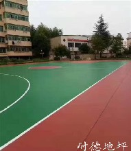 供应凤岗硅PU球场涂装|硅PU篮球场施工造价图片