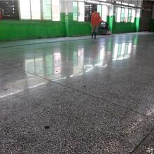 供应寮步抛光水磨石每平米价格 打蜡水磨石地板施工队图片
