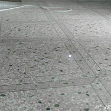 供应东莞彩色水磨石 商场水磨石地面施工工艺图片