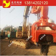 江苏无锡北奕BYVH350型液压打拔桩机专业生产液压打桩机振动打桩锤