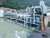 福建莆田二手3米带式砂石场污水压滤机18万致富好项目