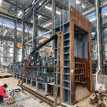 安徽黄山二手同丰800吨槽钢龙门剪切机低价出售图片