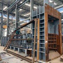 新疆和田二手800噸重型液壓龍門剪切機現貨出售圖片