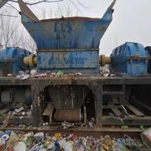 山东济南二手辫子料撕碎机橡胶撕碎机1200型配45kw电机7.5万图片