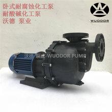 卧式耐腐蚀化工泵YHW2200-50耐酸碱增压泵