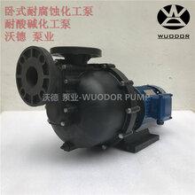 卧式化工泵YHW750-40工程塑料药剂输送泵