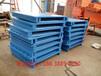定做钢制托盘垫仓板叉车货架专用铁托盘洛阳生产厂家