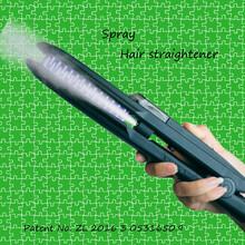 新款蒸汽喷雾直发器夹板直发卷发内扣三合一喷雾直发梳厂家直销图片