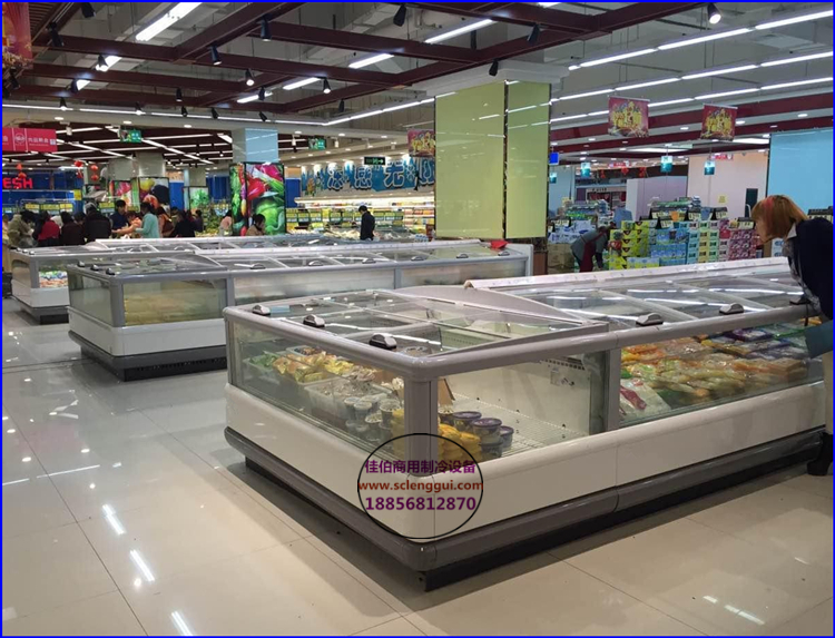 超市速冻农产品展示柜