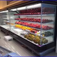 水果蔬菜超市风幕柜五层水果柜定做价格株洲供应蔬菜冷藏柜