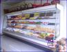 连锁全国水果店保鲜柜水果蔬菜超市冷藏柜湛江定做水果风幕柜