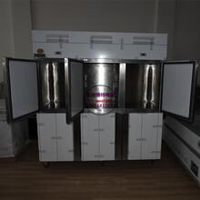 面包房四门冰柜价格上饶定制厨房冷柜厂家冷冻冷藏商用冰箱
