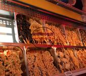 惠州卧式开放式串串香冷藏柜,砂锅串串火锅保鲜自选柜