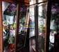 三面中空玻璃鲜花柜佳伯品牌,宿迁花艺店冷藏展示柜