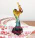 广州供应琉璃奖杯定制,创意琉璃摆件,鸡年水晶琉璃奖杯