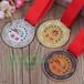 广州供应金属奖牌,金属胸章胸牌制作,校运会市运会比赛奖牌定制