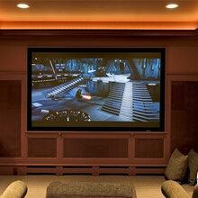 客厅家庭影院,大多数业主共同的选择