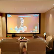 長沙麓山別墅杰士9.2家庭影視廳設計方案圖片