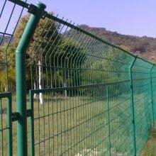 鸿粤绿色框架护栏/现货绿化带防爬网直销/网片护栏厂家直销图片