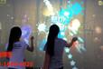 互動墻面投影互動時空隧道互動走廊投影觸摸墻互動投影砸球墻面投影感應