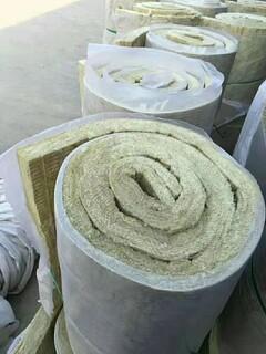 兰州保温岩棉卷毡,岩棉保温毡图片1