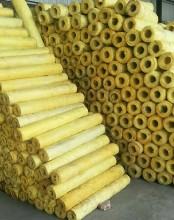郑州耐高温玻璃棉管厂家直销,衬管玻璃棉图片