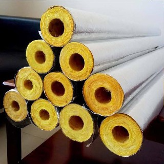 浙江离心玻璃棉保温管生产厂家,高温玻璃棉管图片3