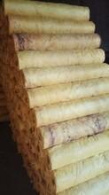 内蒙古憎水玻璃棉保温管原料,衬管玻璃棉图片