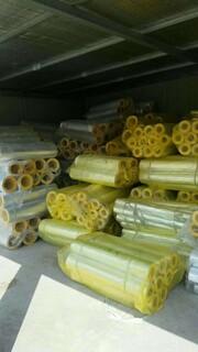 浙江离心玻璃棉保温管生产厂家,高温玻璃棉管图片2