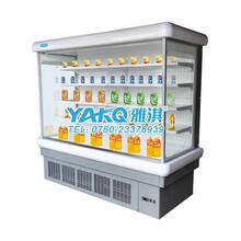 雅淇超市水果饮料风幕柜风幕立式冷藏柜图片