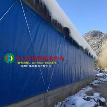 贵州养殖场卷帘布篷布厂家贵阳养殖猪场卷帘布订做尺寸图片