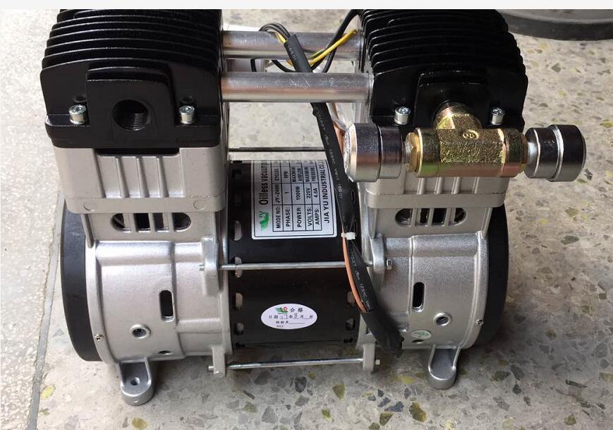 供应台湾活塞式无油真空泵价格晒版机真空泵厂家
